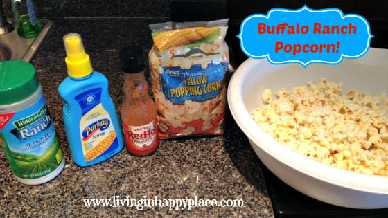 Buffaol Ranch Popcorn recipe