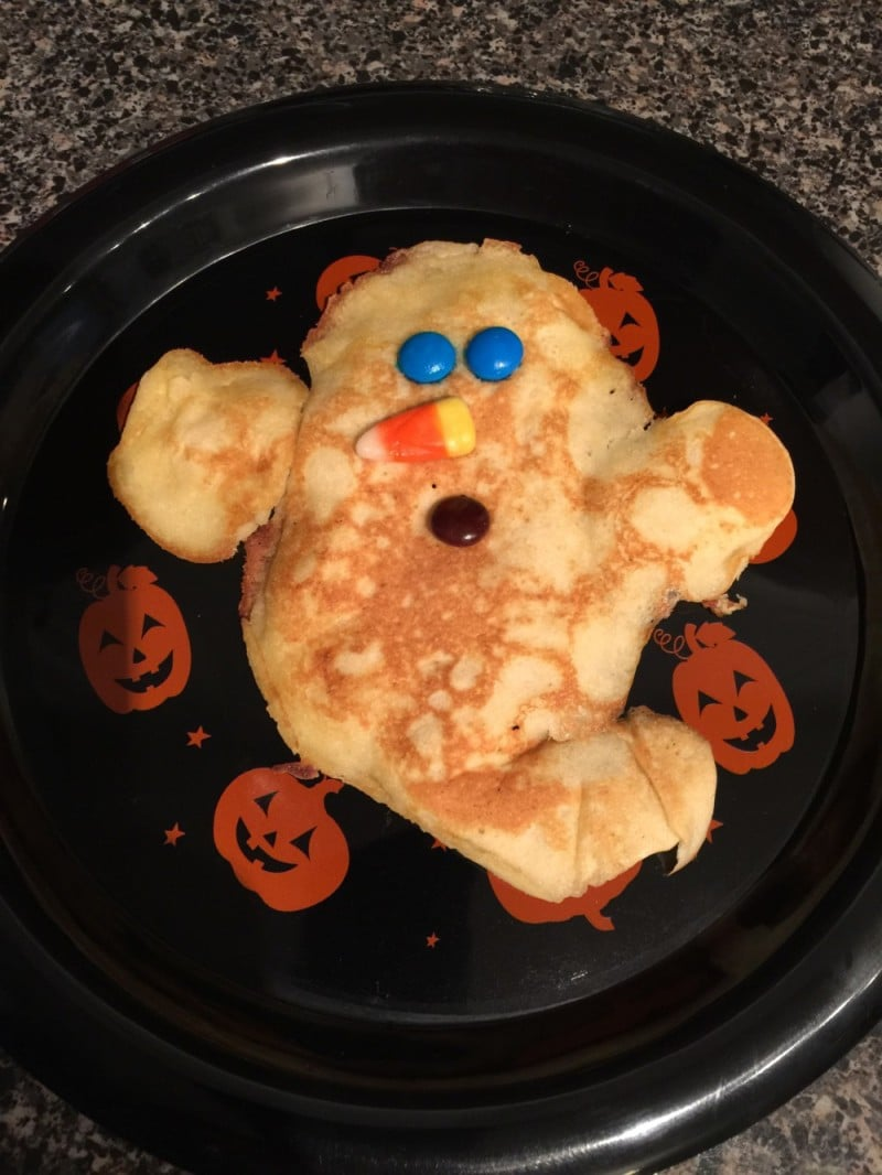 Halloween breakfast