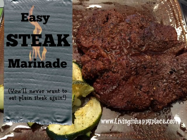 easy steak marinade recipe