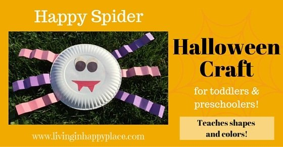 How to make a Happy Spider: Easy Halloween Craft!
