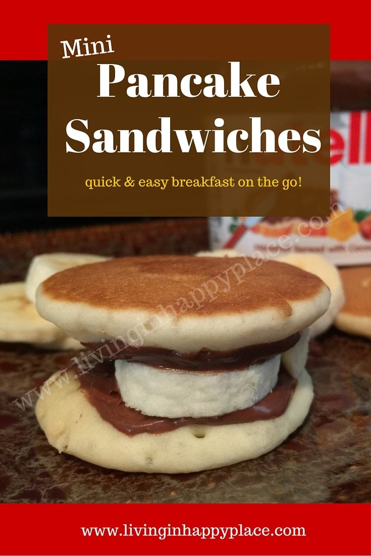 Pancake sandwiches