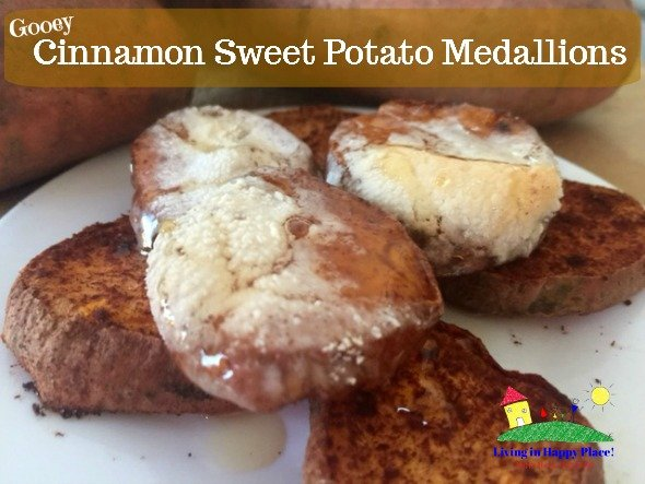 Cinnamon Sweet Potato Medallions Recipe