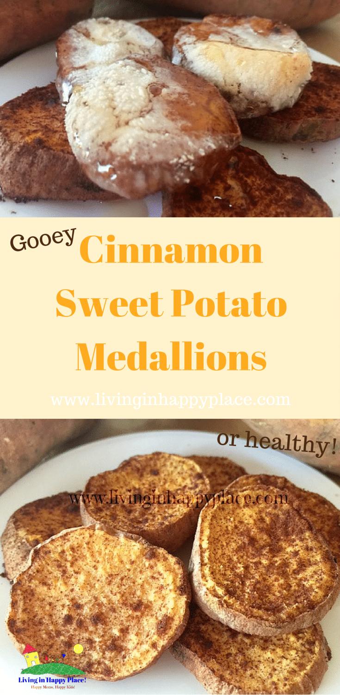 Cinnamon Sweet Potato Medallions recipe