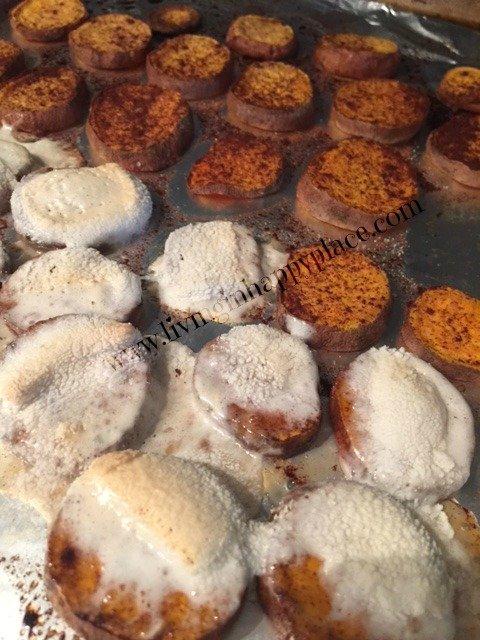 gooey sweet potato medallion recipe