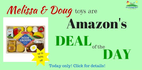 Melissa and Doug Toys are Amazon's Deal of the Day!
