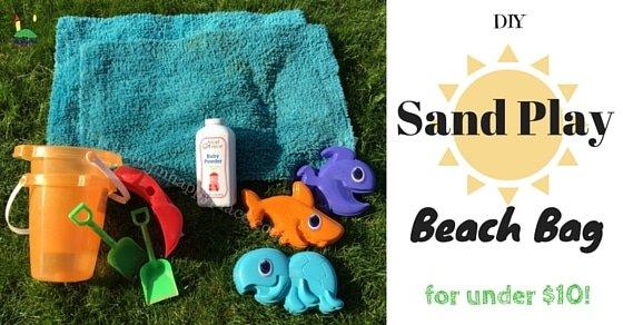Sand Play Beach Bag