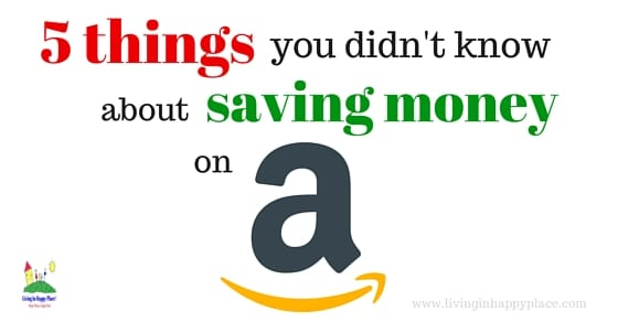 saving money on amazon