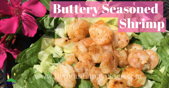 Buttery Seasoned Shrimp Recipe