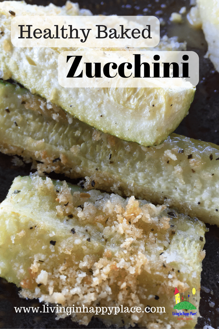 Healthy Baked Zucchini Recipe