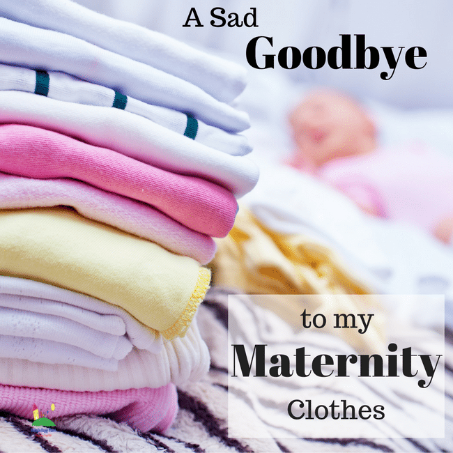 good-bye maternity clothes