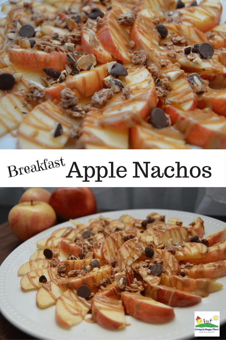 Breakfast Apple Nachos