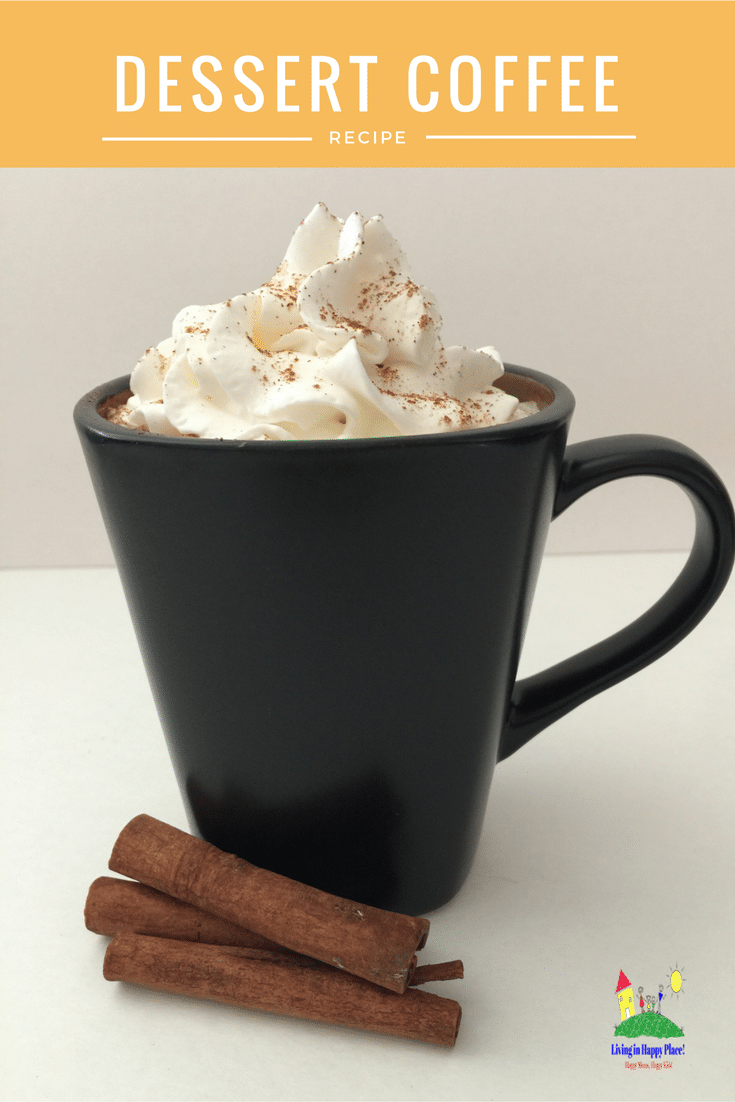 Cinnamon Vanilla Dessert Coffee Recipe