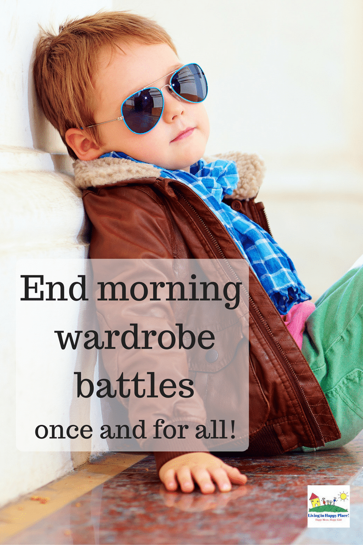 Tricks to end the morning wardrobe battle with your kids