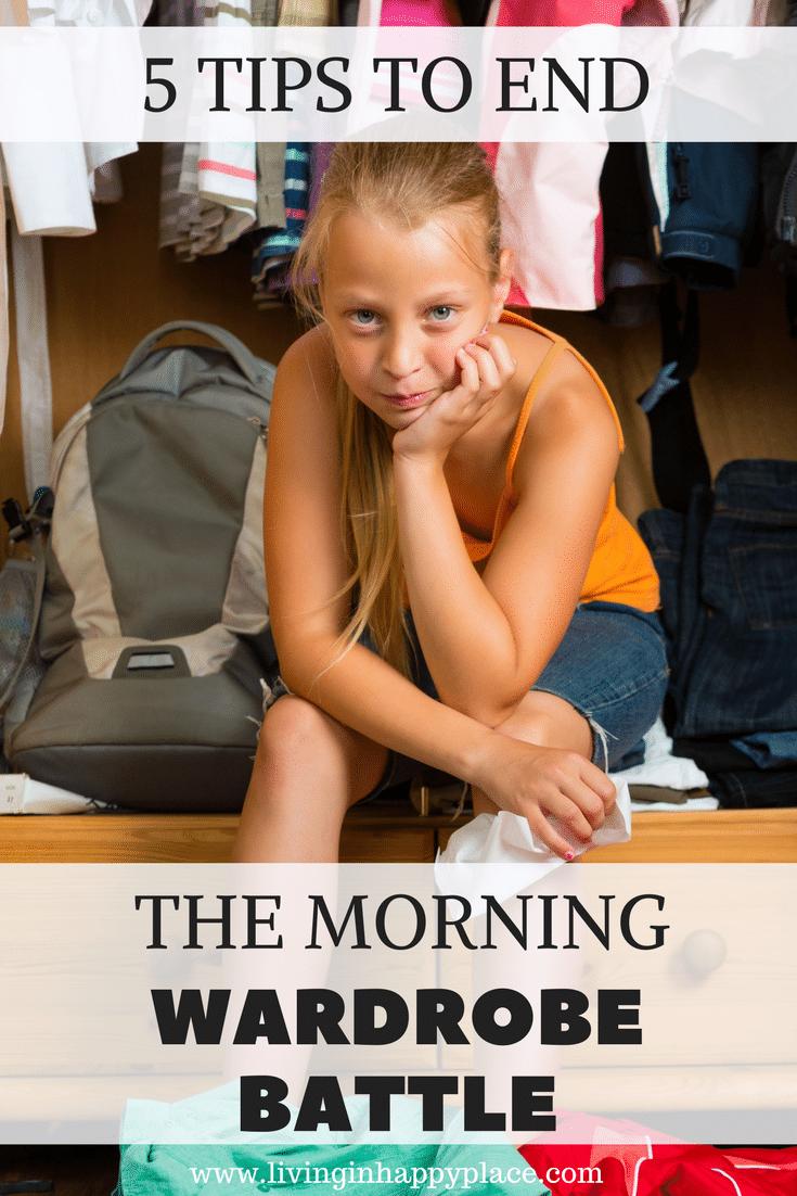 morning wardrobe battles