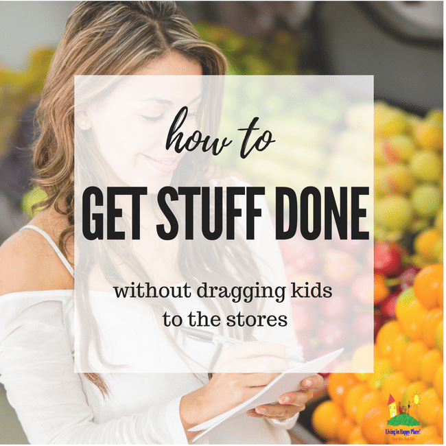 Get stuff done without taking kids to the store
