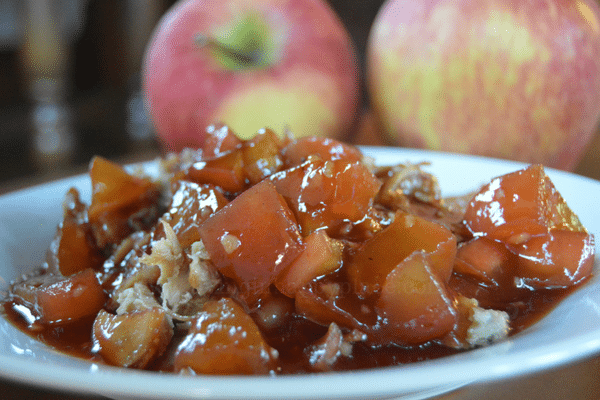 Apple Barbecue Pork Glaze
