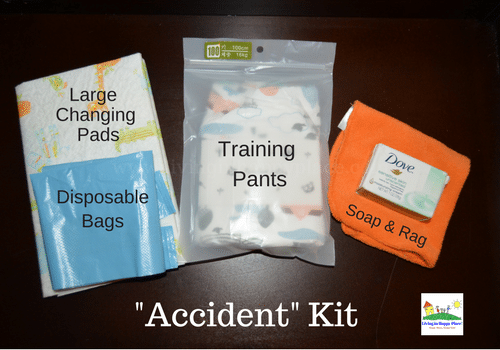 Potty Training Accident Kit 4
