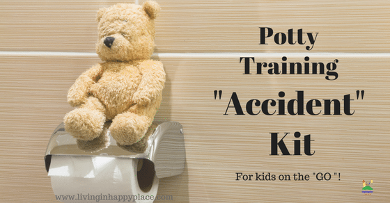 "Potty Training ""Accident"" Kit for Moms and Toddlers on the Go"
