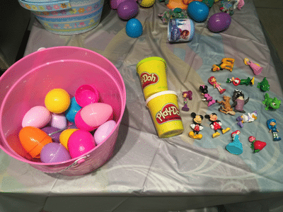 plastic easter egg reuse idea
