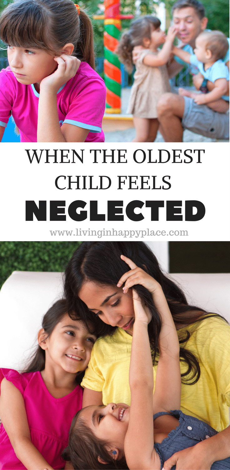WHEN THE OLDEST CHILD FEELS NEGLECTED