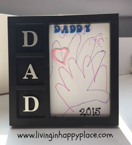 DIY fathers day gift idea for kids