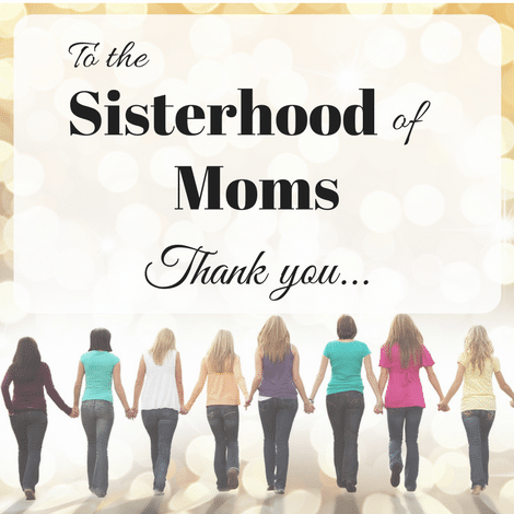 Thank you to Moms who showed us the ropes