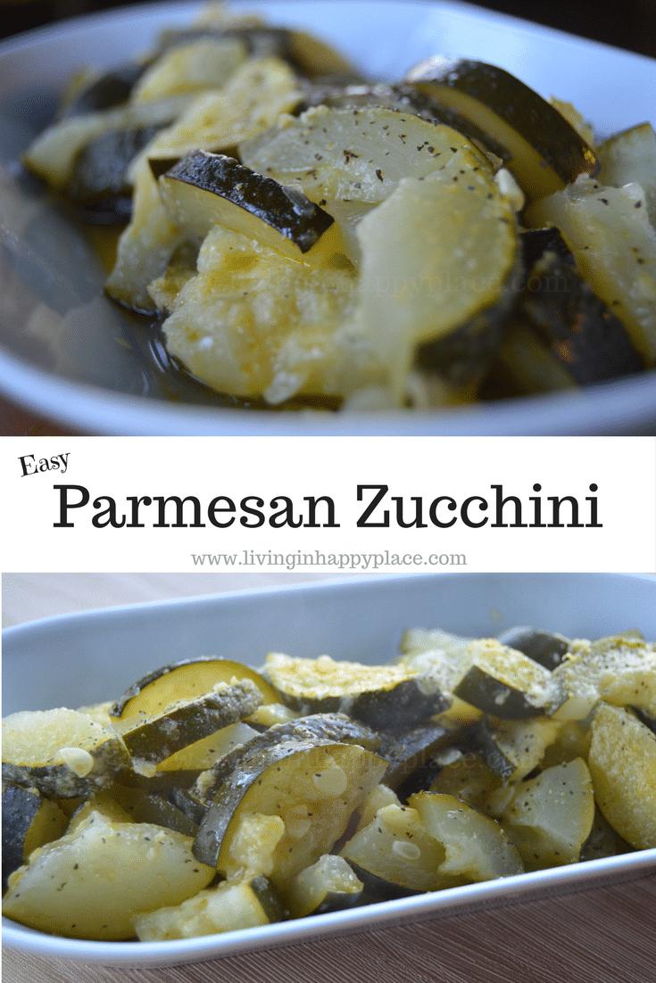 Easy Parmesan Zucchini Recipe