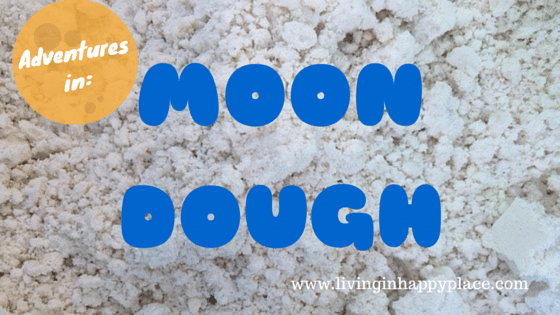 Moon Dough recipe and fun