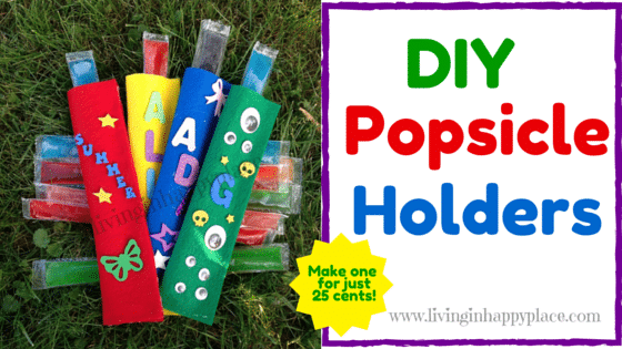 DIY Felt Popsicle Holder craft activity