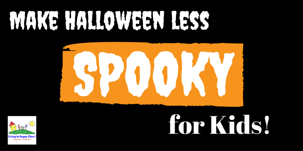 Not-so-scary halloween for kids