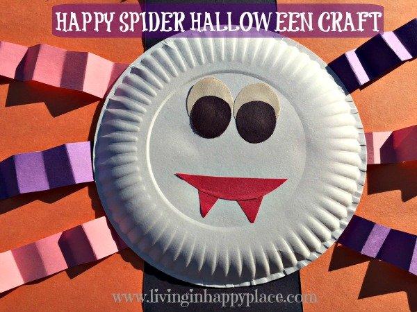 Spider Halloween craft
