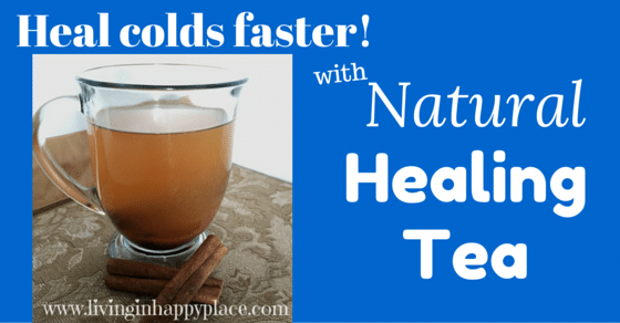 Heal kid's (and Mom's) colds faster! Try this all natural healing tea cold remedy!