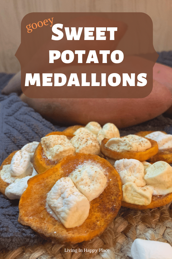 Gooey Cinnamon Sweet Potato Medallions Recipe your kids won't be able to resist!