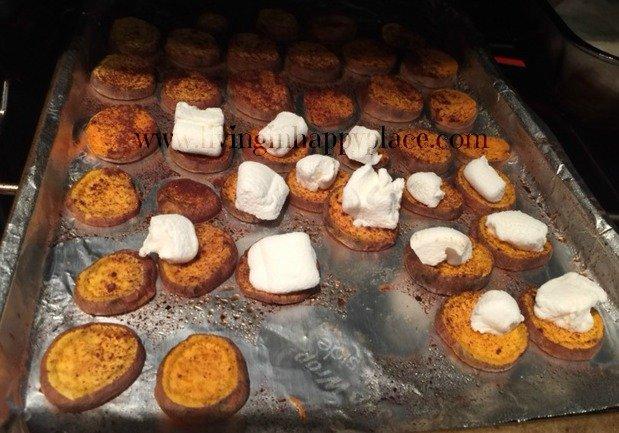 sweet potato medallions recipe