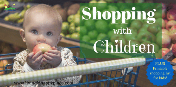 Shopping with children: tricks for tear-free shopping!