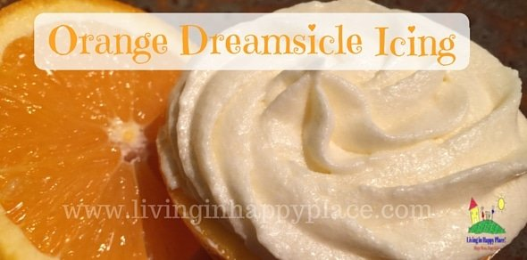 Orange Dreamsicle Buttercream Icing
