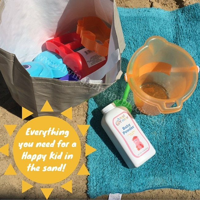 DIY Sand Play Bag for under $10