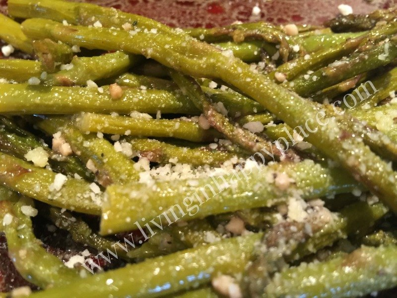 healthy garlic baked Asparagus recipe