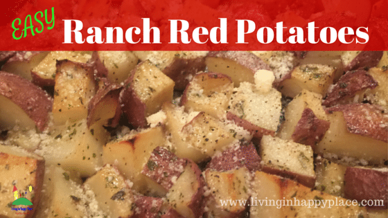 Easy Ranch Roasted Red Potato Recipe