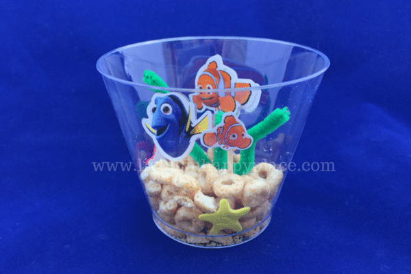 Finding Dory Craft activity aquarium