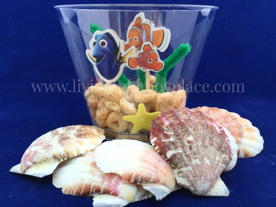 finding dory craft aquarium