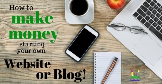 Make money working from home with your own website or blog for Build your own home website