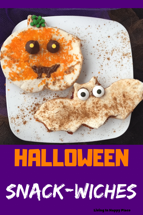 HALLOWEEN SNACK SANDWICHES
