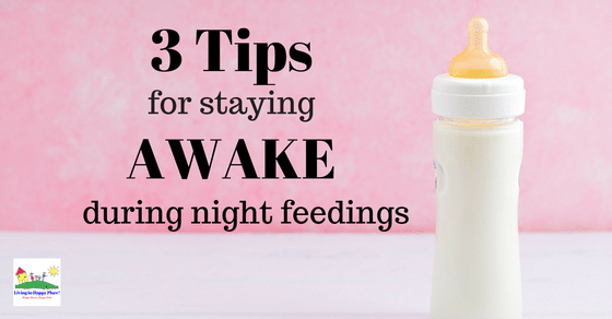 3 tricks to stay awake during night feedings