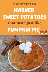 best mashed sweet potato recipe