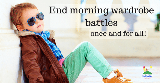 5 Tips to stop the morning wardrobe battle