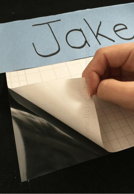 Practice name writing mat