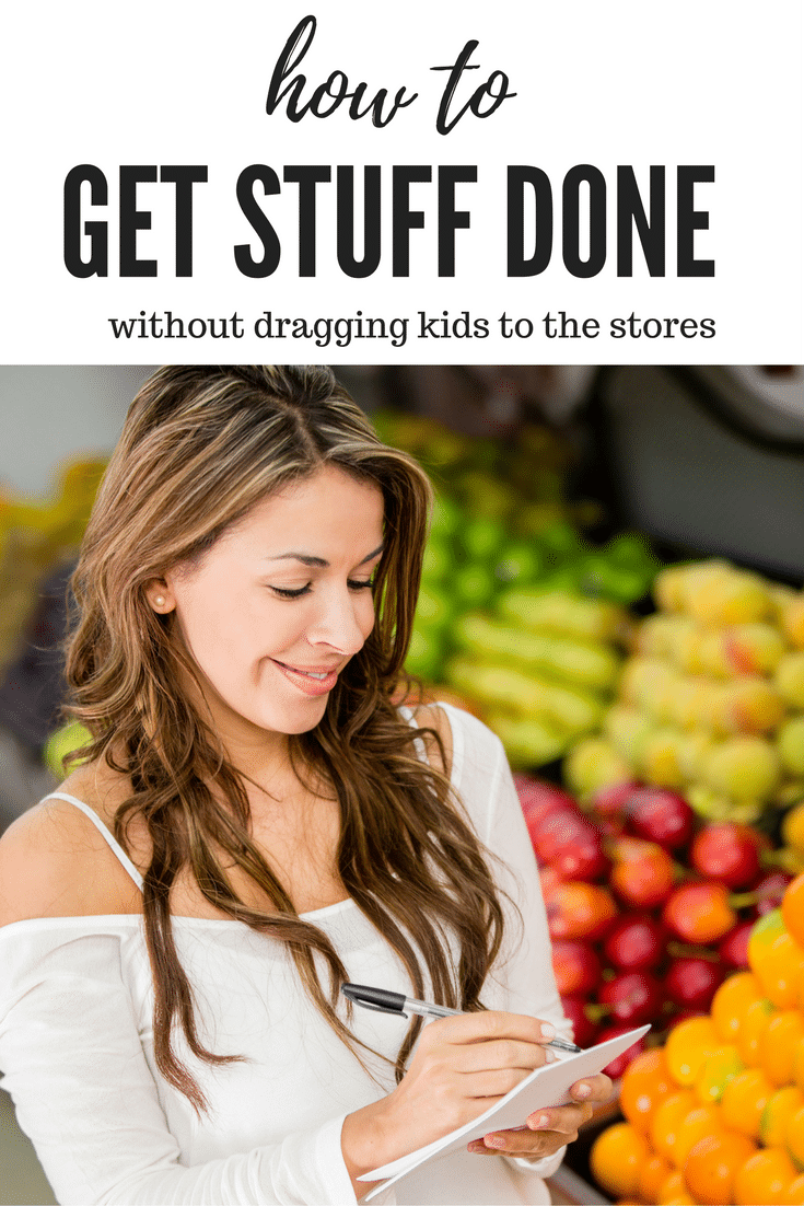 Run errands and get things done without dragging kids to the store