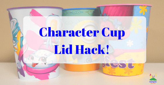 Character Cups Lid Hack
