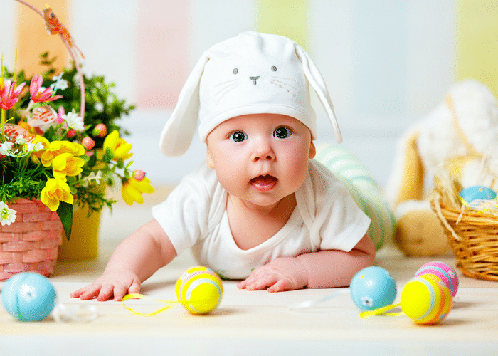 Easter basket ideas for babies easter gift ideas for baby the best easter basket ideas for babies negle Image collections